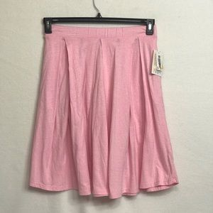 NWT LuLaRoe Madison Small Pink Skirt